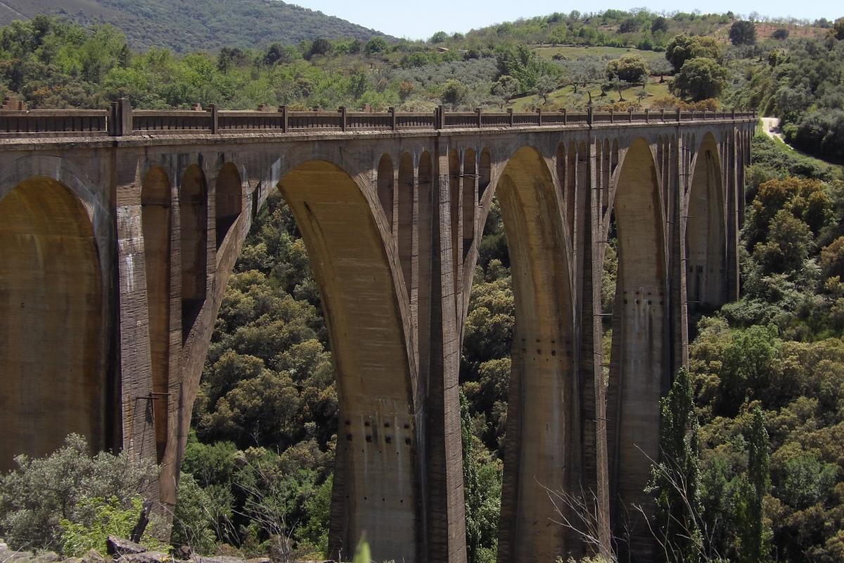 Bridge of Guadalupe in Geopark Villuercas